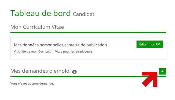 inscription cv et demandes d u0026 39 emploi pour candidats